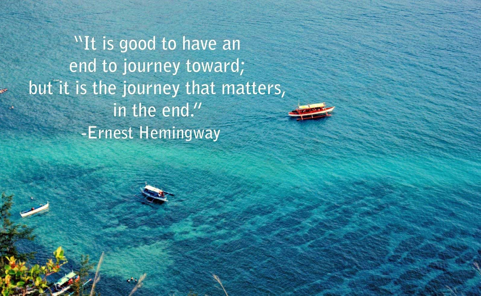 it is the journey that matters in the end life quotes tumblr