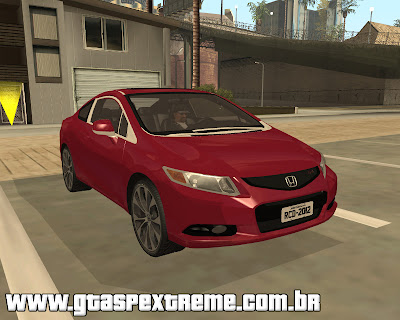 Honda Civic SI 2012 para grand theft auto