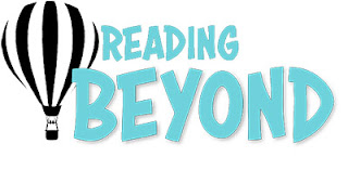 Reading Beyond Logo, with a hot air balloon and the words Reading Beyond