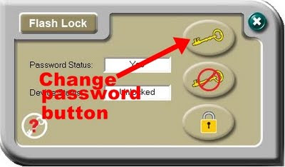 TDK Flash Lock change password