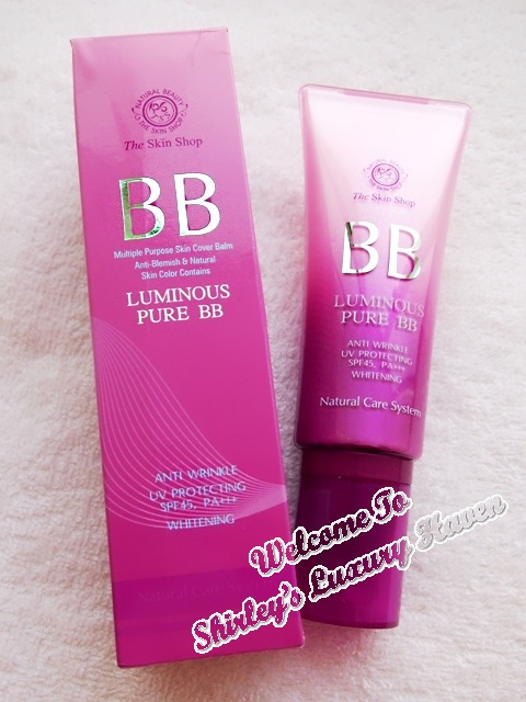 the skin shop, luminous bb cream