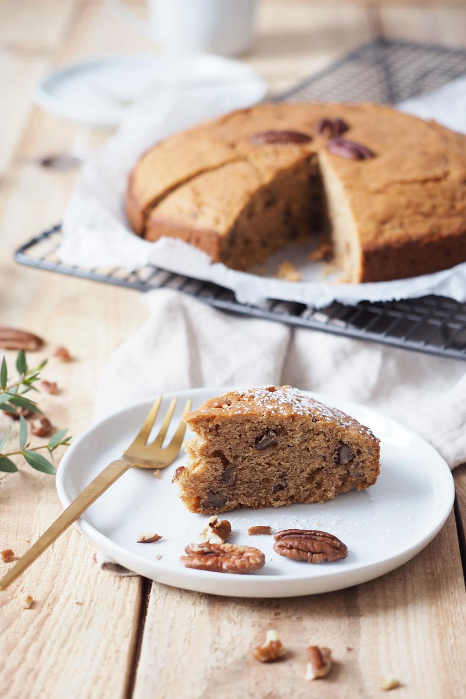 Veganer Pekanuss Kuchen Und Ein Ganz Besonderer Auftritt In Der