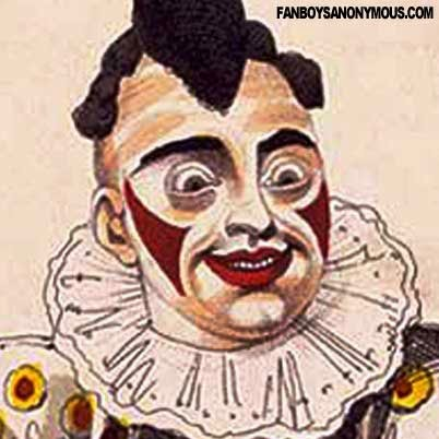 Grimaldi Clown Makeup History London