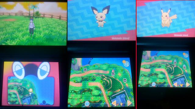 Lokasi Menangkan Pichu dan Pikachu Di Pokemon Ultra Sun&Moon