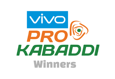 VIVO Pro Kabaddi League, winners, losers, years, seasons, list.