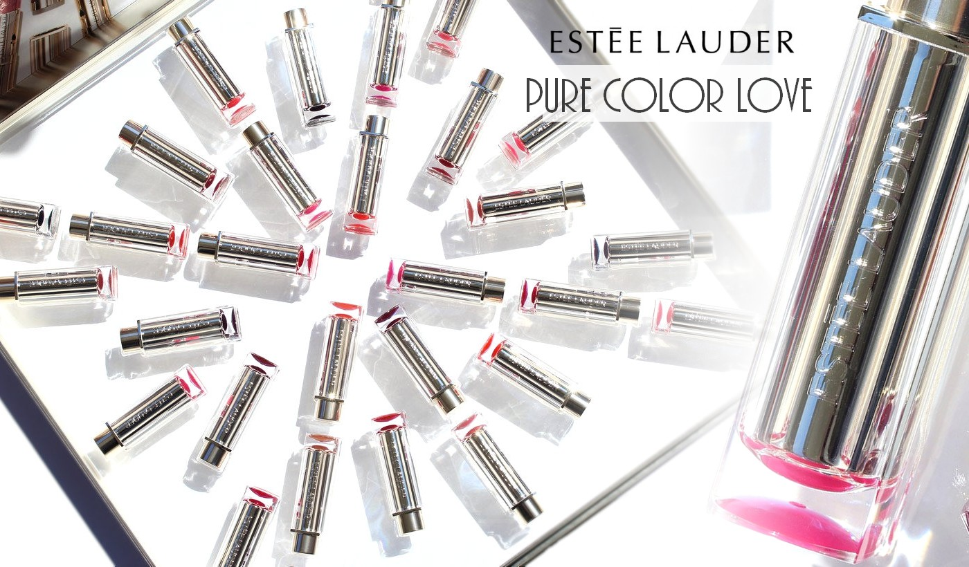 Estée Lauder Pure Color Love Lipsticks - Swatches of the 30 shades! -  Nailderella