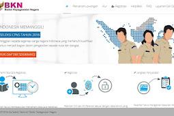Situs Portal Resmi Tempat Pendaftaran CPNS 2018 (sscn.bkn.go.id)