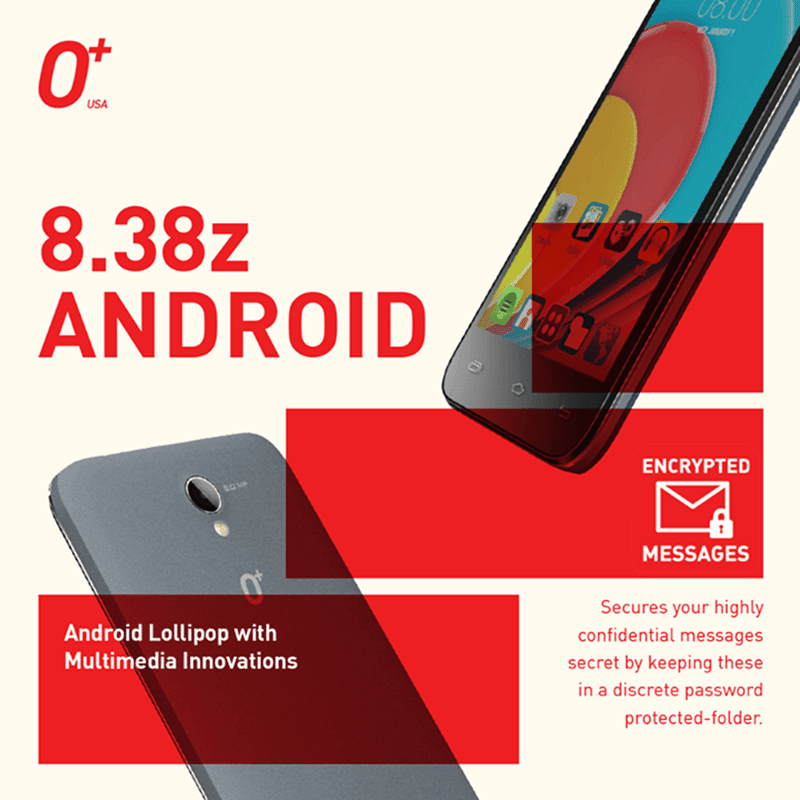 The Lollipop Powered O+ USA 8.38z Announced, The Yayadub Phone? Priced 3395 Pesos Only!