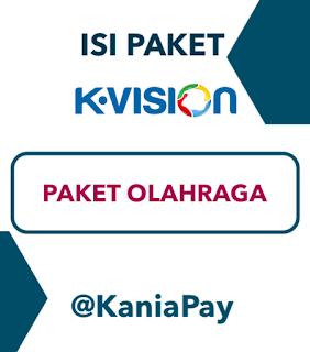 Beli Paket Olahraga K-Vision Online