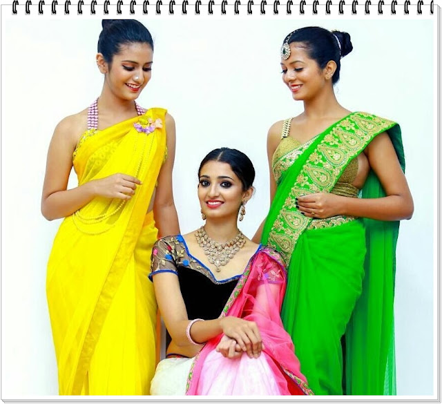 Hot-Pics-Priya-Prakash-Varrier-In-Transparent-Yellow-Saree-Awesome-Photos-2