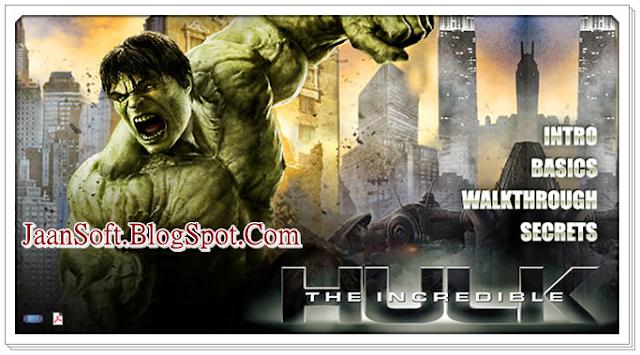 The Incredible Hulk PC Game 2018 Full Download