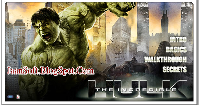 JaanSoft- Software And Apps: The Incredible Hulk PC Game 2018 Full Download