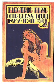 The Electric Flag Concert Poster