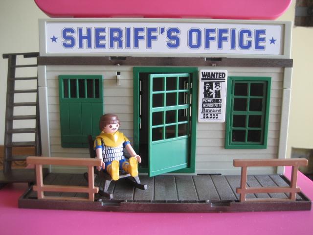Playmobil Sheriff S Office