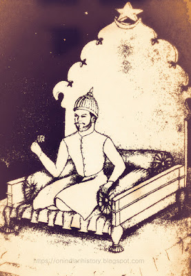 The sitting posture of Sultan Muhammad bin Tughlaq according to Ibn Battuta