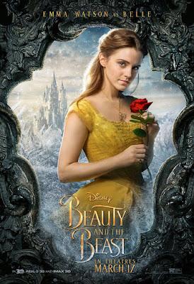 La Bella y la Bestia 2017 - disney - poster Emma Watson