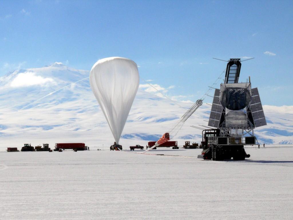 NASA solta balões na Antártida desde 1980