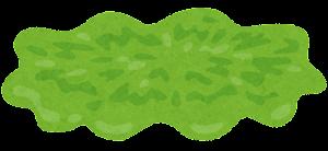 ハンバーガーの具材のイラスト(レタス)