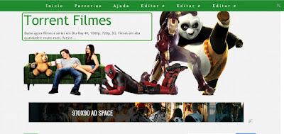 Template Para Blog De Filmes Torrent