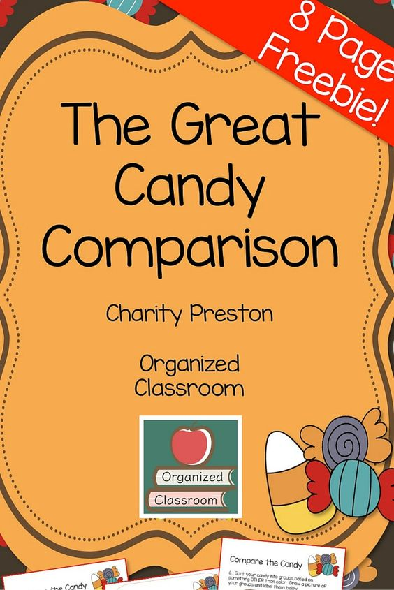 Too much leftover Halloween candy? I have a fun solution for the week AFTER Halloween! A fun way to use that extra resource for manipulative learning!