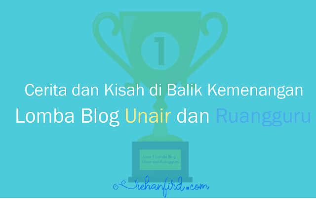 2x Menang Blogpost di Tahun 2019!!! Rasanya...