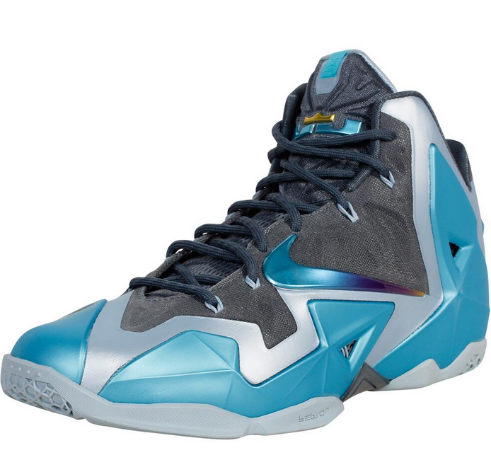 6a50128cbae ... italy how to buy the new nike lebron 11 xi gamma blue sneakers for 40  56438