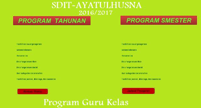 Aplikasi Program Administrasi Guru Kelas Baru