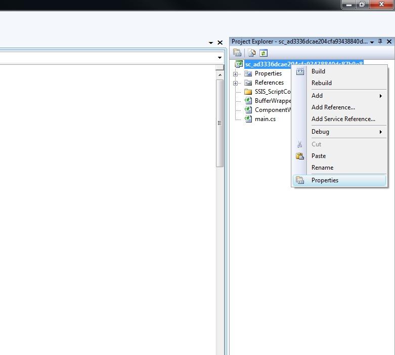 Microsoft SQL Server Integration Services: Changing  Net Framework