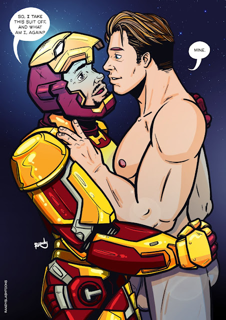 Tony stark comic gay porn
