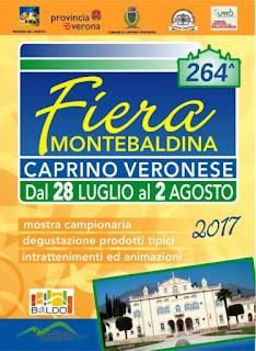 Fiera Montebaldina dal 28 luglio al 2 agosto Caprino Veronese (VR)