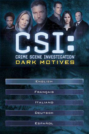Csi crime scene investigation dark motives free download.