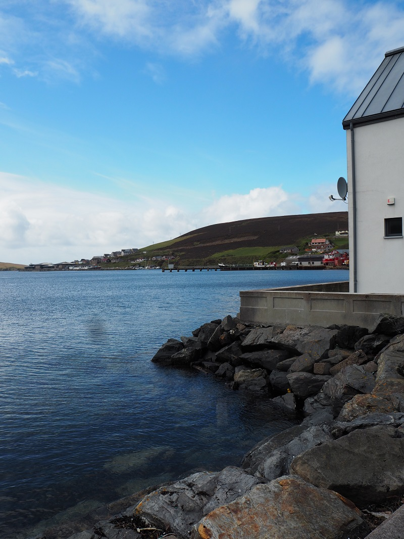 waterfront in Scalloway