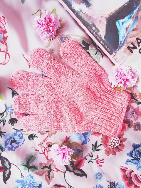 Exfoliačná rukavice Oriflame recenzia