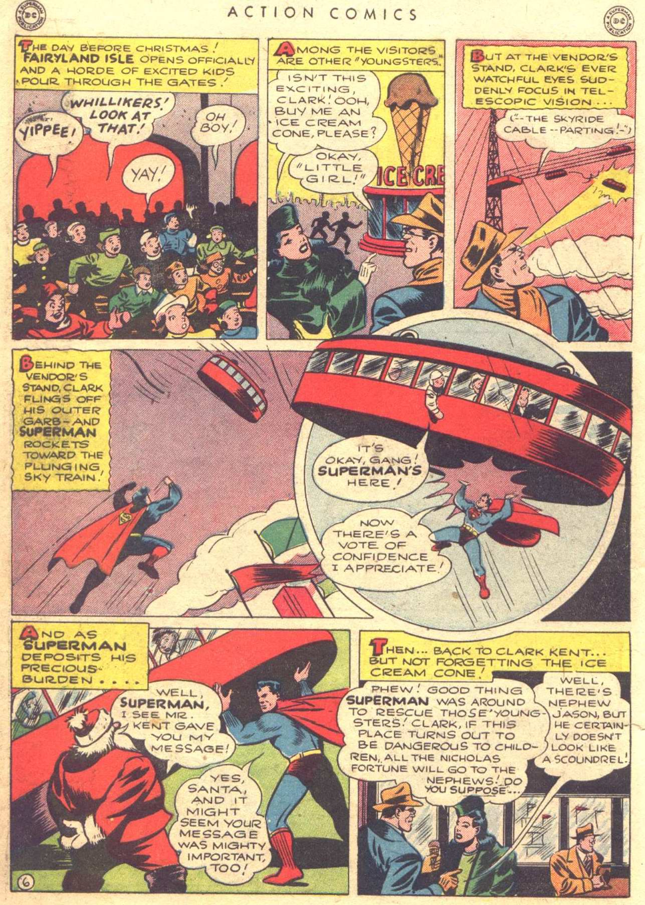 Read online Action Comics (1938) comic -  Issue #81 - 8