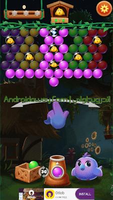لعبة قاذف الفقاعات