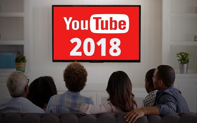 أكثر 10 فيديوهات مشاهدة على اليوتيوب سنة 2018