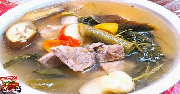 Pork Sinigang Sa Sampalok (Sinigang Na Baboy) Recipe