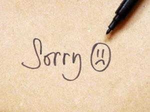 dp minta maaf