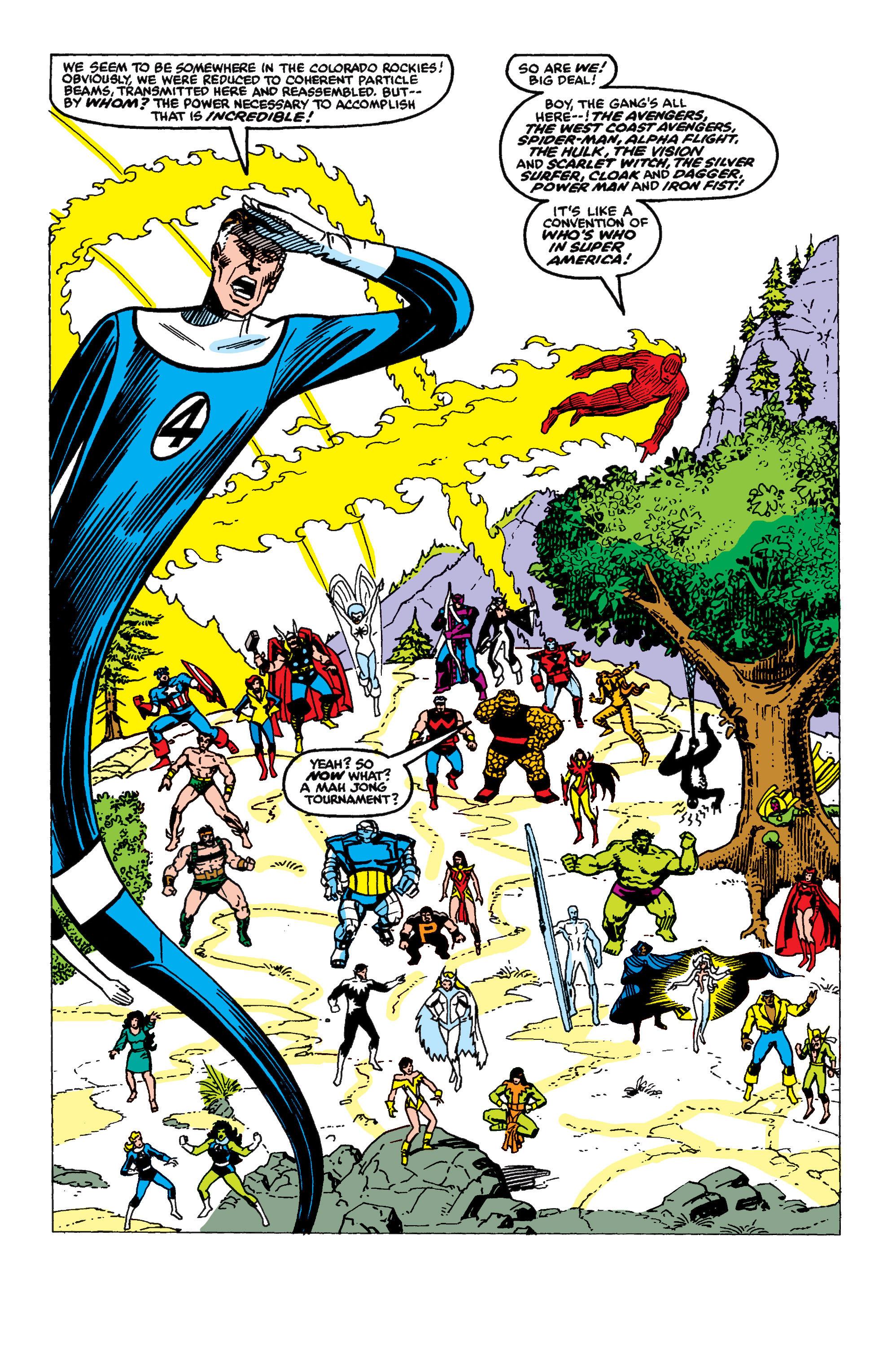 Read online Secret Wars II comic -  Issue #9 - 5