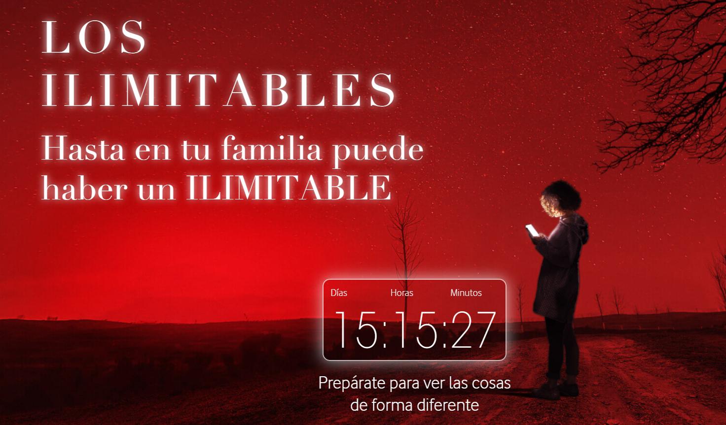 Los ilimitables Vodafone