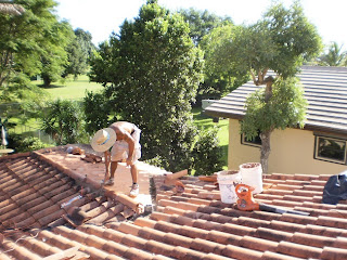 Tile Roof Repair in Miami