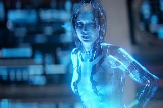 Искусственный интеллект Cortana из компьютерной игры «Halo»