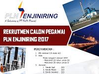 Lowongan Kerja PT PLN Enjinering Tahun 2017