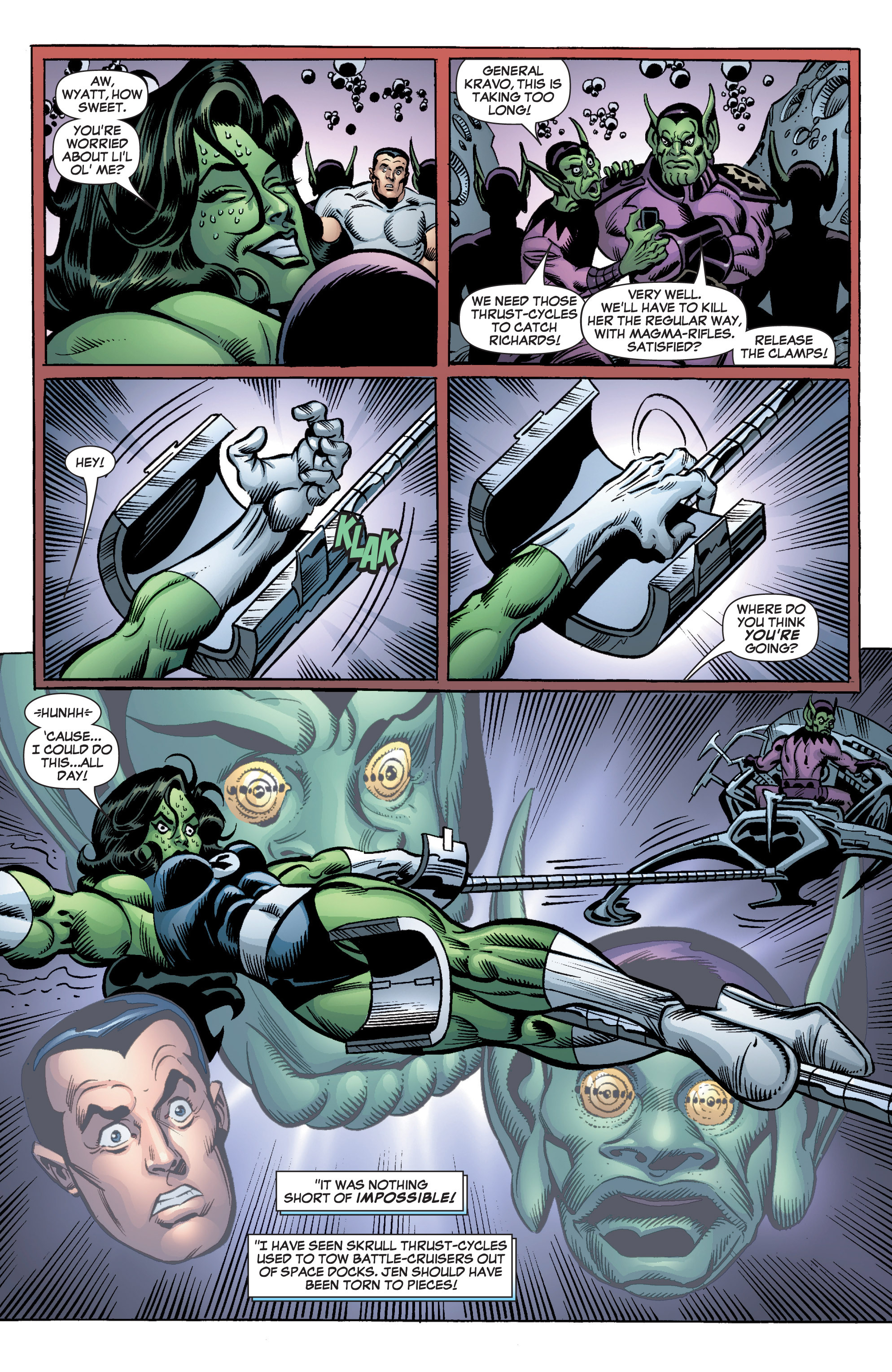 Read online She-Hulk (2005) comic -  Issue #3 - 18