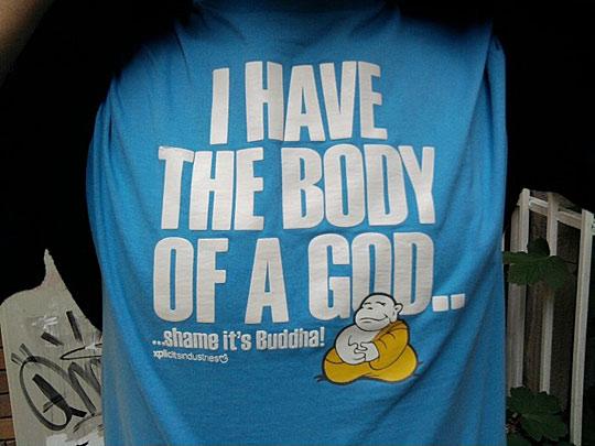 74714ff322 Isteni testem van...kár, hogy a Buddháé