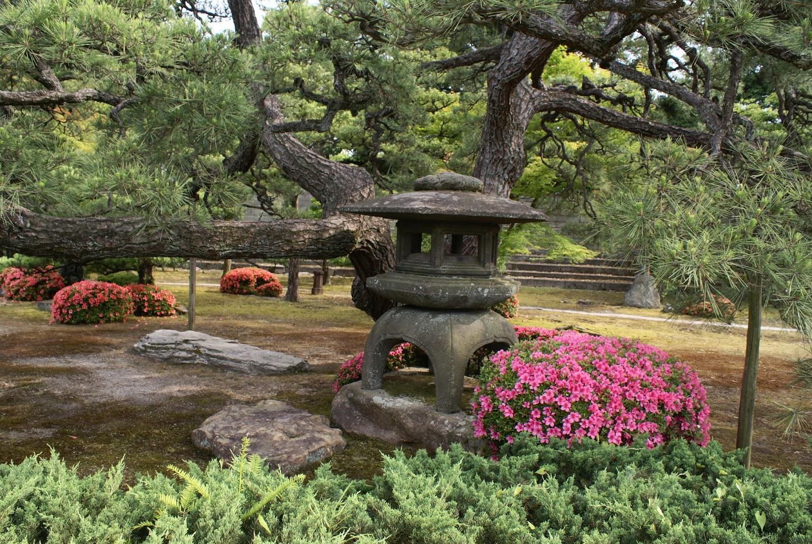 honmaru garden nijo-jo castle kyoto japan asia