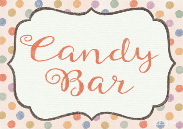 Candy Bar, Label, Illustration