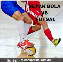 Perbedaan Olahraga Sepak Bola Dan Futsal