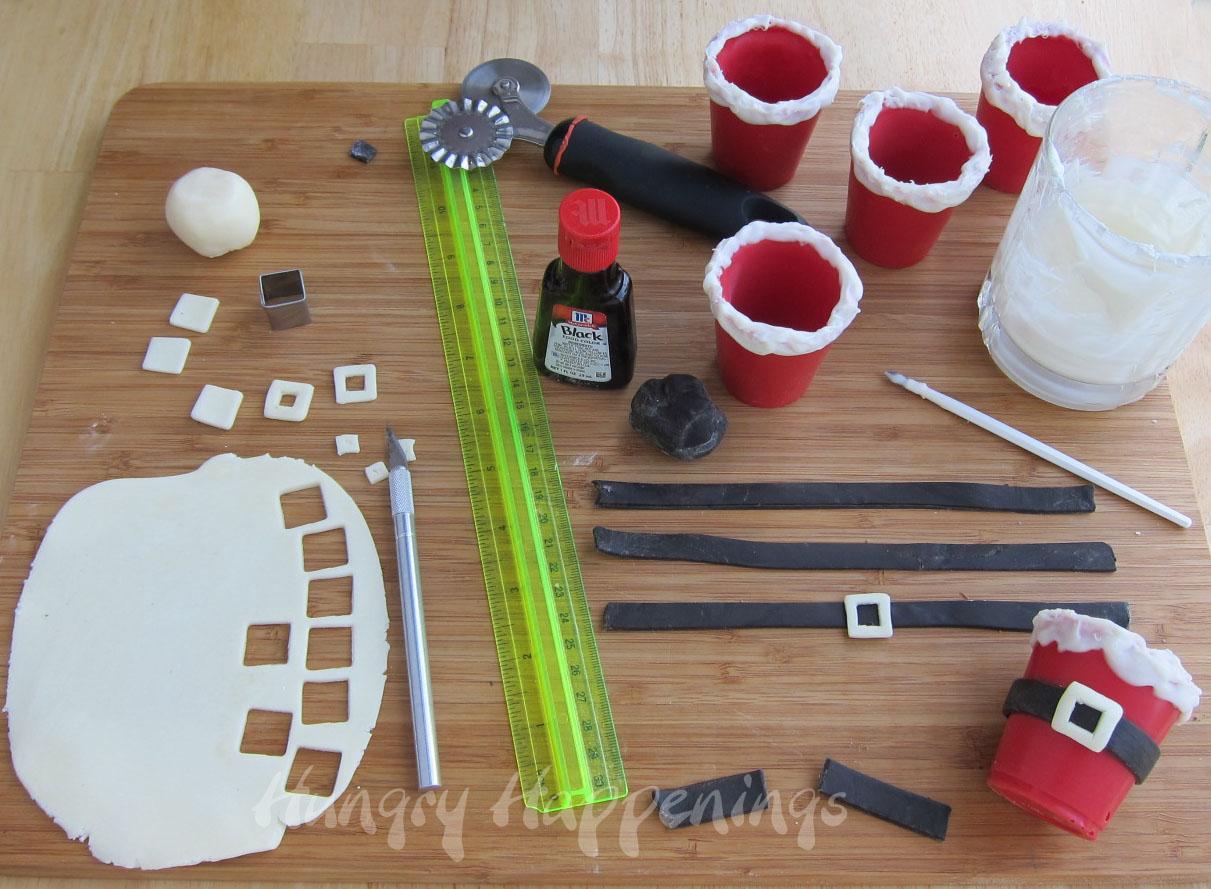 Dust A Cutting Board Lightly With Powdered Sugar