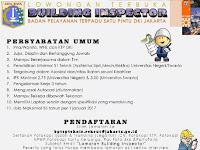 Lowongan Kerja Badan Pelayanan Terpadu Satu Pintu DKI Jakarta